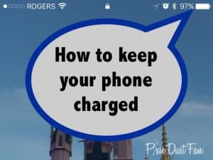 Phone charger Disney