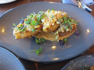 Paddlefish Fried green tomatos